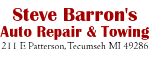 Steve Barron's Auto Repair & Towing